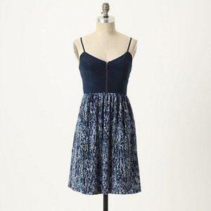 Anthro Moulinette Soeurs In the City Silk Dress 6